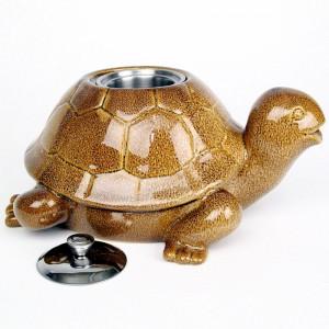 Tortoise Patio Torch / Brown w Fuel
