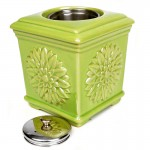 Sunflower Patio Torch / Green w Fuel