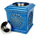 Sunflower Patio Torch / Blue w Fuel