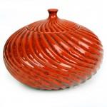 Swirl Patio Torch / Red w Fuel