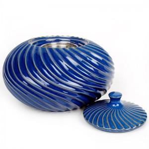 Swirl Patio Torch / Blue w Fuel