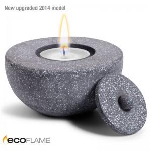 Terrazzo CandlePot – Grey