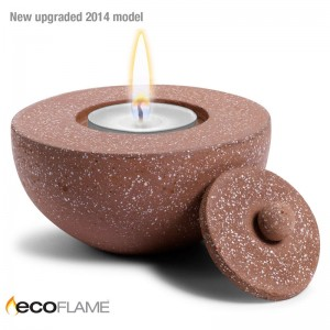 Terrazzo CandlePot – Brown