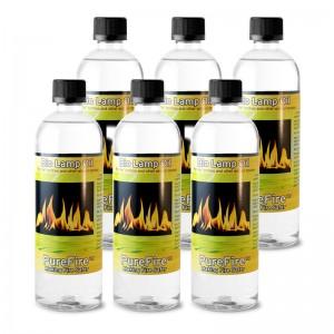 PureFire™ Bio Lamp Oil, 6-Pack 750 ML