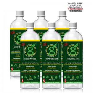 Super.Bio.Fuel™ 6 Pack 1-Liter Bottles