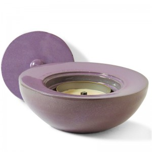 Windflame Bowl Candle FirePot, Violet