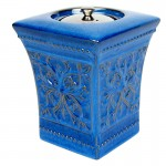 Pedestal Patio Torch / Blue w Fuel