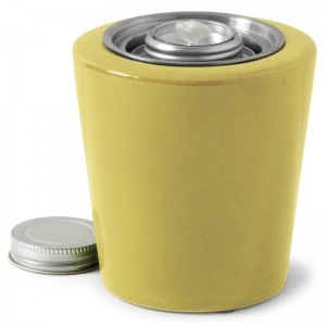 Modest Patio Torch / Yellow Green w Fuel