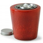 Modest Patio Torch / Red w Fuel